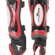 School sports ultimate shin pad guards with velcro and added ankle protection