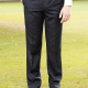 Suit Trousers Flat Front Style Senior Boys and Mens sizing in Navy Blue