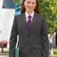 Suit Jacket Tailored Fit Style Girls and Ladies Sizing in Grey