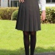 Suit Skirt Pleated Girls and Ladies Sizing in Grey