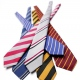 Eco ties specially designed and manufactured in the UK from recycled polyester