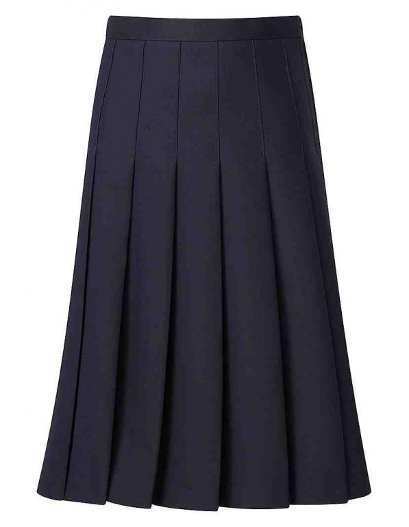 navy suit skirt pleated girls ladies pleated suit skirt